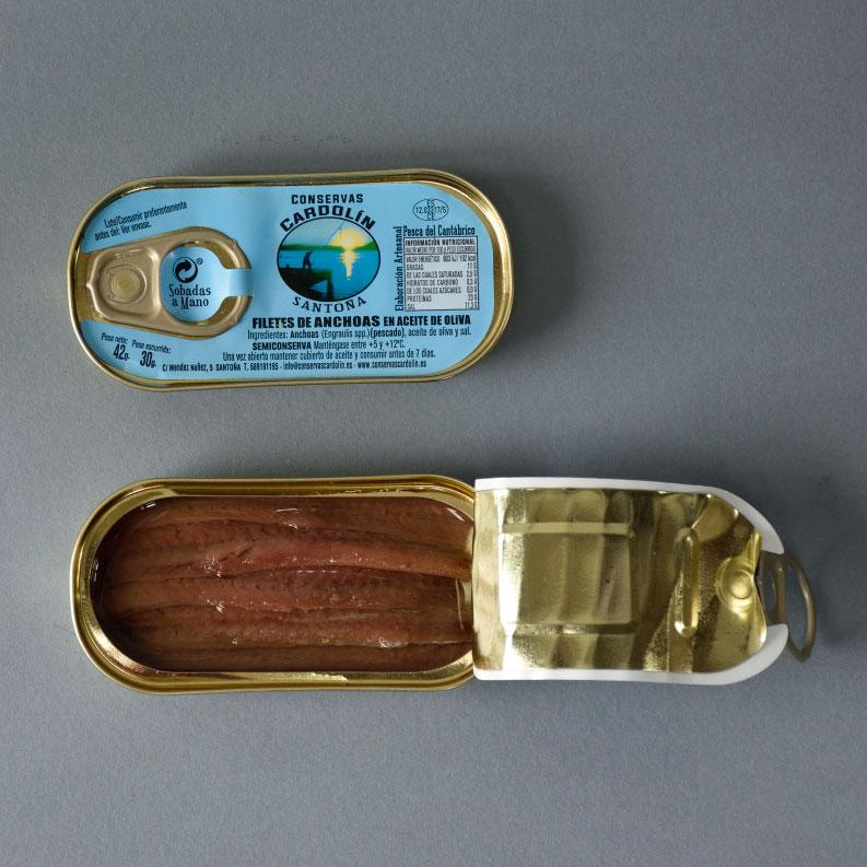 Octavillo anchoa Selecta 00 42 gr