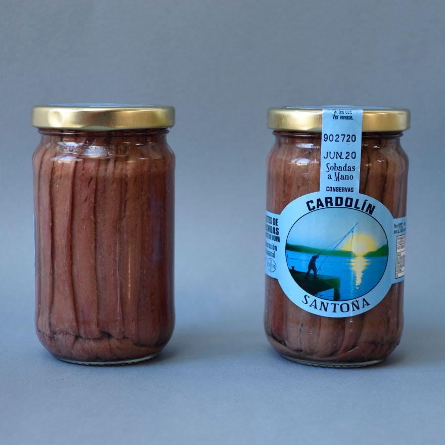 Tarro anchoa Selecta 00 275 gr