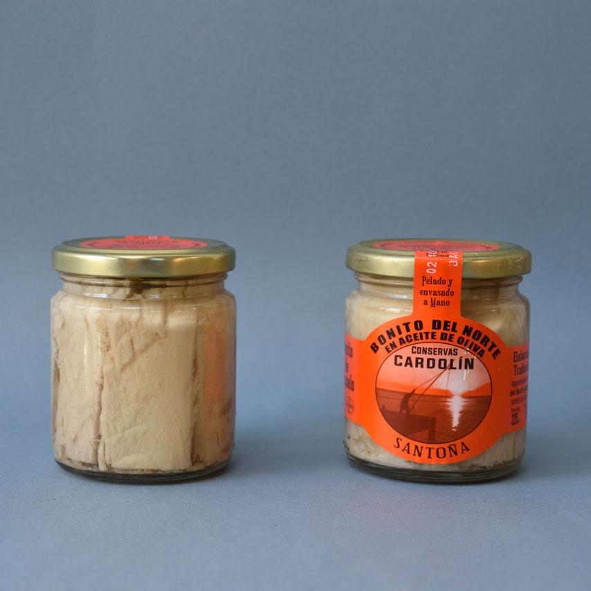 Tarro bonito en aceite de oliva 225 gr