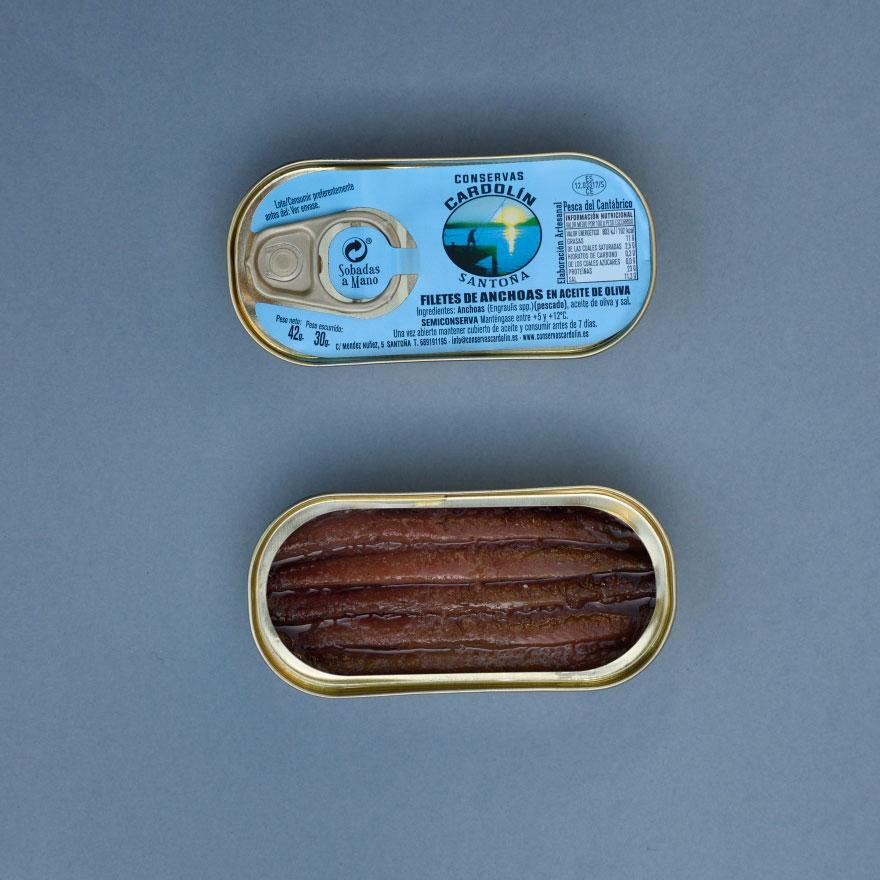 Octavillo de anchoas 42 gr
